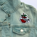 Bite the Apple Sinner Embroidered and Iron on Patch