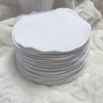 Bulk Buys Thick Premium Grade White Reusable Cotton Makeup Remover