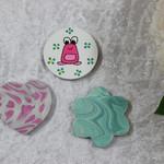 Set of 3 Handmade Magnets