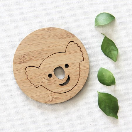Koala Magnet Australia Bamboo Souvenir Australiana