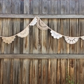 Doily bunting 2.75m