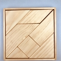 Kiddies Handmade Wooden Puzzle