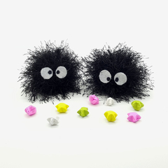 Soot sprite crochet plush, My Neighbor Totoro, Spirited Away, Christmas gift