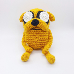 Jake the Dog crochet plush, Adventure Time, Adventure time plush