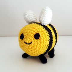Breezy the Bee Crochet Plush, Adventure Time, bee amigurumi toy