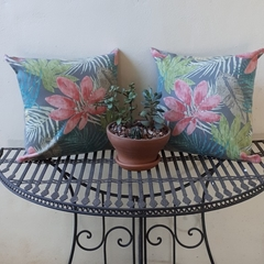 """SET OF 2 x 45cm (18"""") OUTDOOR CUSHION  COVERS"""