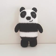 Panda Bear crochet plush, We Bare Bears, Panda amigurumi, christmas gift toy kid