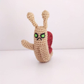 Adventure Time Possessed Waving Snail crochet plush toy