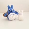 My Neighbor Totoro Crochet Plush, Totoro amigurumi, Studio ghibli, soot sprite,