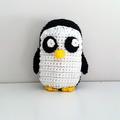 Gunter Penguin Crochet Plush, Adventure Time