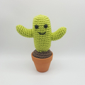 Cactus Crochet Plant, cacti amigurumi, home decor, christmas gift