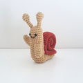 Adventure Time Snail Crochet Plush Toy