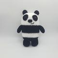 We Bare Bears Crochet plush, bear amigurumi, ice bear, grizz, panda, christmas