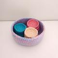 Face scrubbie crochet, face scrubber, face pad, cotton, ecofriendly,