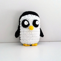 Gunter Penguin Crochet Plush, Adventure Time