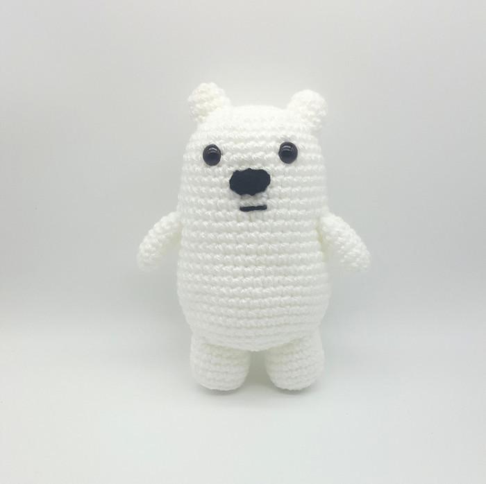 Crochet bear amigurumi pattern | Amiguroom Toys | 698x700