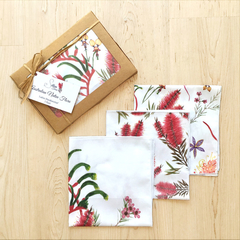 Australian Handkerchief 3 packWild Flowers