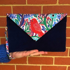 Envelope Clutch - Bird
