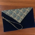 Envelope Clutch - Feathers
