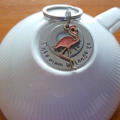 This Mum Belongs To, Keyring,Custom, Personalised, Mothers day, Hand Stamped,