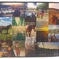 Personalised Jigsaw Puzzle 500 piece 100% Australian Made + free text added