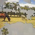 Personalised Jigsaw Puzzle Australia Shape 100 piece 100% Australian Made