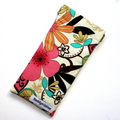Padded Sunglasses Pouch in Gorgeous Floral Fabric