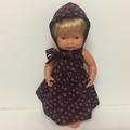 Miniland Dolls Dress  and Matching Bonnet to fit 38cm Dolls