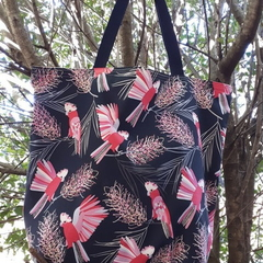 COCKATOO  TOTE (Water-resistant lining)