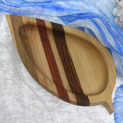 Timber Leaf Serving Platter
