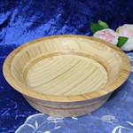 Large Turned Bamboo Bowl