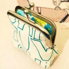 """Teensy coin purse """"Alphabet"""""""