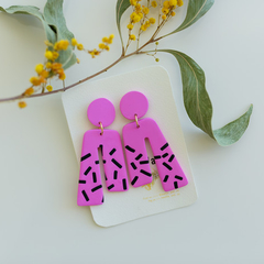 Statement Dangle 'Barbie' Collection