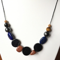 Goldstone Handmade Beaded necklace.