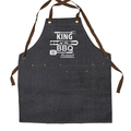 BBQ King Men's Personalised Apron. Men's Gift