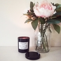 Medium scented 100% soy wax tumbler candle, 180g, 16 fragrances