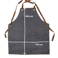 The GrillFather Men's Personalised Apron. Father's Day Gift.