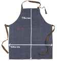 BBQ Boss Denim Personalised Apron. Father's Day Gift