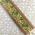 'Snowdrop' Art Nouveau Border Design Bookmark with Tassel