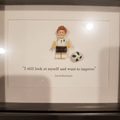 Personalise Customise Lionel Messi, Cristiano Ronaldo, David Beckham soccer play