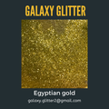 Eco-friendly shimmer body gel - Egyptian gold