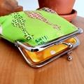 "Large coin purse ""Giraffes"""