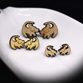 Lion King themed baby simba stud earring
