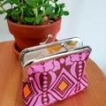 "Medium coin purse ""Wallpaper"""