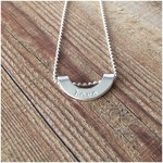 Quarter Moon Love Necklace