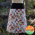 Dragon Castle ~ Ladies skirt with stretchy waistband