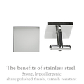 Engraved personalised square silver cufflinks - My Daddy - Fathers Day Gift