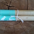 Wooden tapping sticks - bush theme