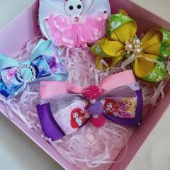 Handmade bows gift box