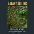Eco Friendly Shimmer body gel - Mermaid Green